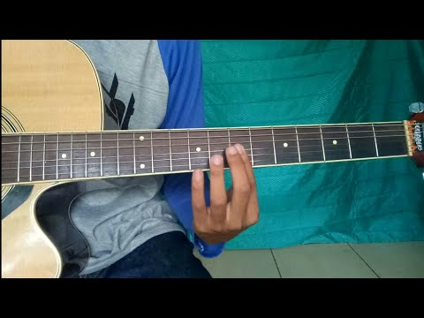 tutorial gitar merindukanmu dash uciha (petikan mudah) cuma pake 4 kunci dasar!!!