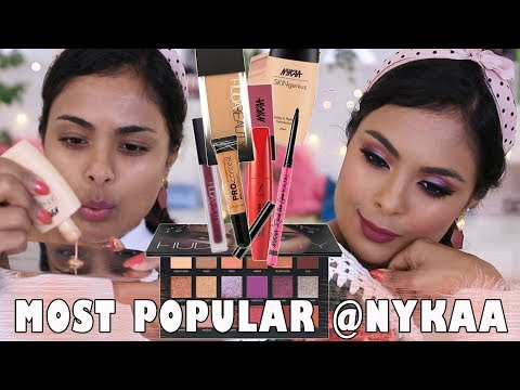 TESTING MOST POPULAR MAKEUP ON NYKAA