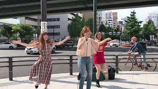 2018/6/3 なんばストリート Mari7/オリジナル/Meke up Happy バックダン...
