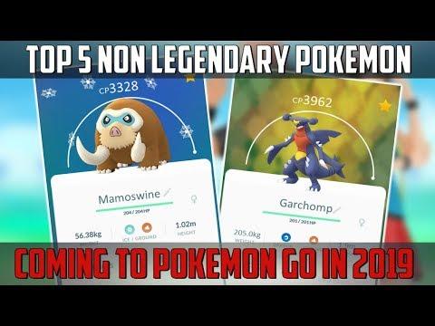 Top 5 Non Legendary Pokemon Coming To Pokemon Go In 2019! thumbnail