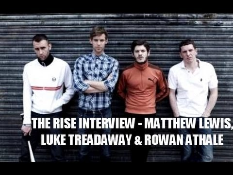 Matthew Lewis, Luke Treadaway & Director Rowan Athale   The Rise