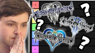 My Kingdom Hearts Game Tier List!