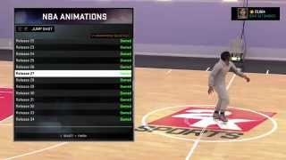 Quick NBA 2k16 TIP #3 ** Jump Shots ! ! ** Lefty / Righty Jump Shots