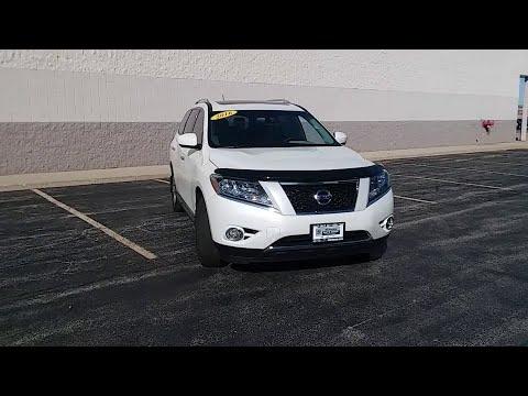 2016 Nissan Pathfinder Niles, Skokie, Chicago, Evanston, Park Ridge, IL SP10648