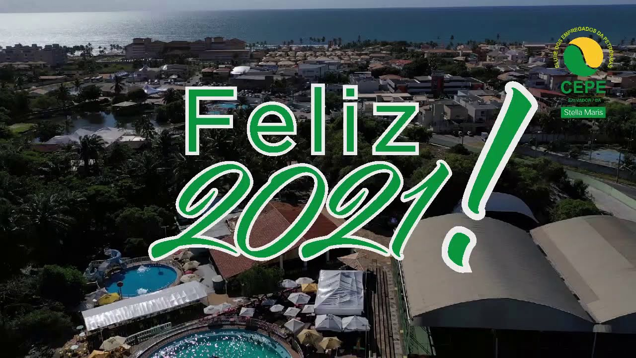 O CEPE Stella Maris deseja a todos um Feliz 2021!