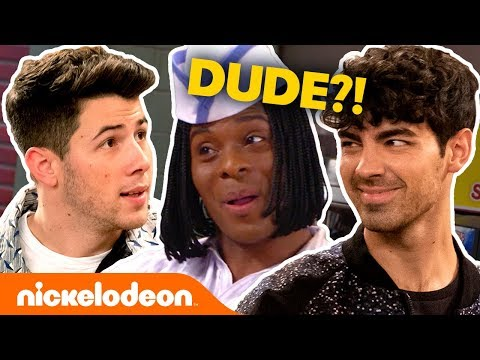 Angelina - Jonas Brothers Sing We're All Dudes On Epic All That Reboot!