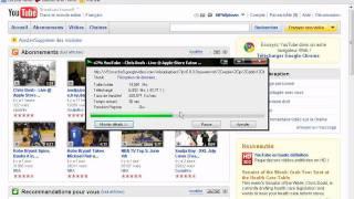 EEpad assilabox 1 mega test  ( Débit et Ping)