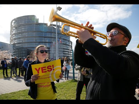 Article 13: Why are people protesting over copyright in Europe today? | Euronews explains