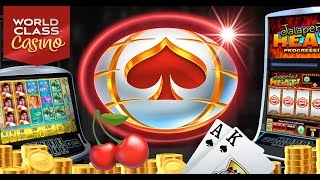 World Class Casino Real Slots, Video Poker & Texas Holdem Tournaments