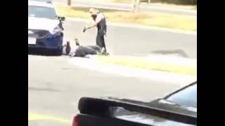 Video Sparks Public Outcry After a Cop Tasers Man in the Back as He was Complying