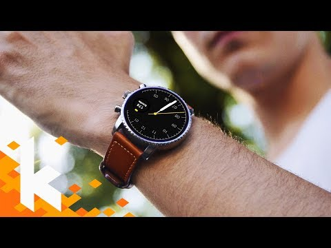 Smartwatch mit Stil: Fossil Q HR (review)