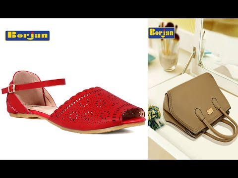 aa81243a7b Borjan Shoes Sandals and Bags 2017 18 With Prices - YouTube