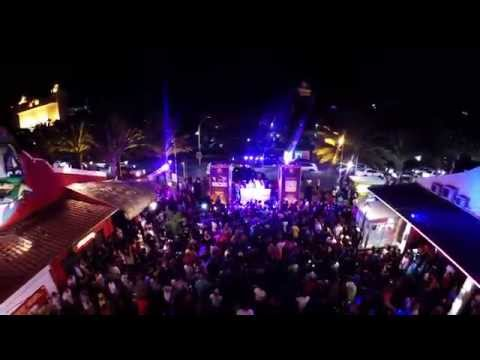 DJI Phantom 2 V3.0 with Zenmuse H4-3D Gimbal (Aruba Electric Fest 2015 Island Culture Block Party)