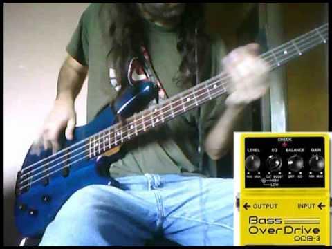 metal pedal boss bass overdrive odb3 demo for metal youtube. Black Bedroom Furniture Sets. Home Design Ideas