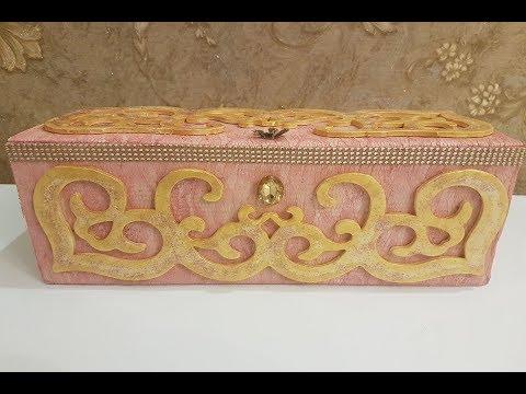 Very Beautiful Handmade Jewelry Box - DIY