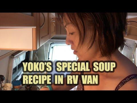 Yoko's Delicious Soup Cooking Demo in Van