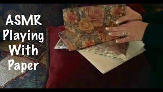 ASMR Paper crinkles per request (No talking)