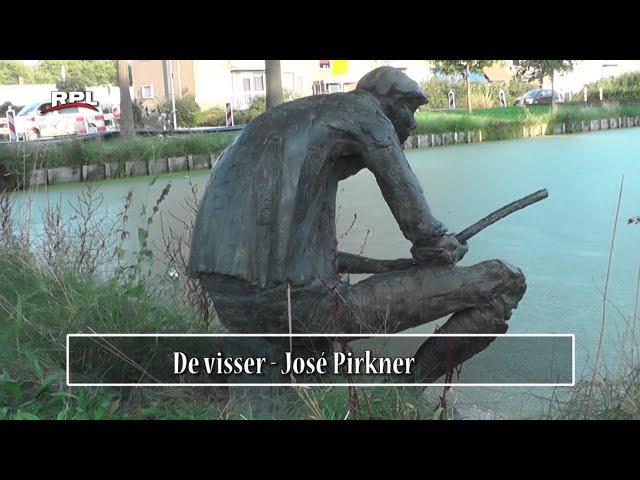 Beelden in Woerden - De visser