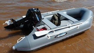 лодка ПВХ  Гладиатор 320 (The Best Polyvinil Chlorid Boat). Часть1. Распаковка