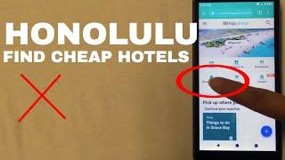 🔴 Cheap Hotels In Honolulu Hawaii 🔴