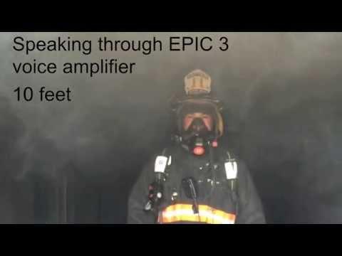 EPIC 3 Voice Amplifier Audio Test