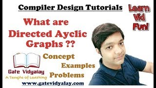 Video Directed Acyclic Graphs (DAGs) in compiler design Explained step by step download MP3, 3GP, MP4, WEBM, AVI, FLV Desember 2017