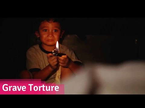 Grave Torture - He's Been Buried Alive In His Father's Grave // Viddsee.com