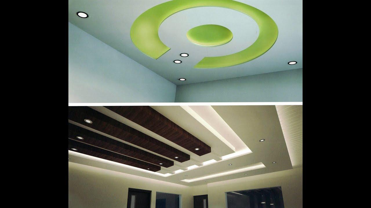 Ceiling Design Ideas | Ceiling Decoration | Gypsum POP Ceiling - YouTube