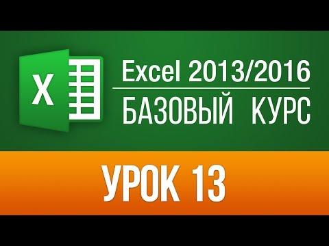 Excel: видеоуроки для начинающих