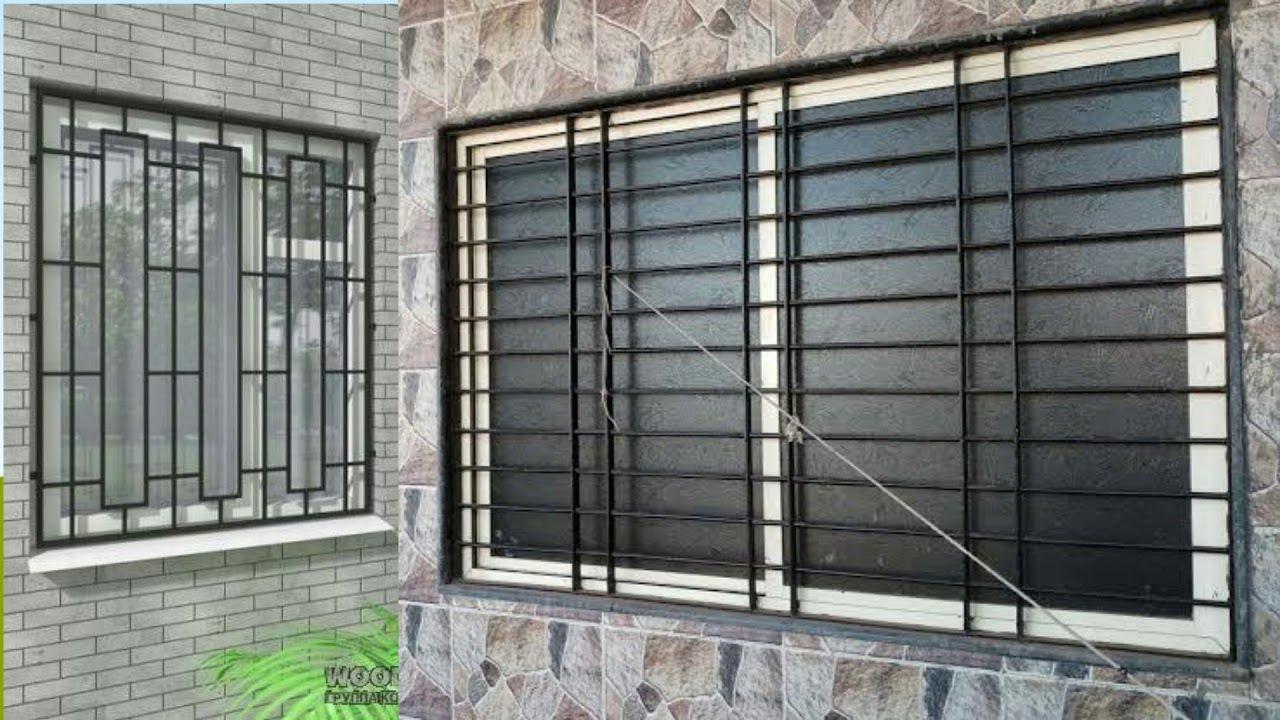 Modern Windows Grill Design ideas 12 Windows Iron Grill  Window Grill  designs