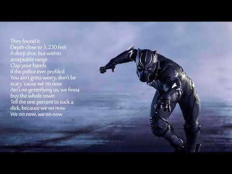 Black Panther Full online Song Lyrics - Bagbak Vince Staples