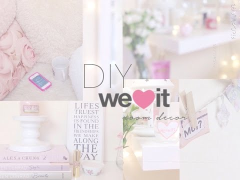 ♡DIY Weheartit Inspired Room Decor | Floral Princess♡
