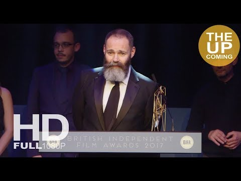 BIFAs 2017 Best Film God's Own Country: Francis Lee receives award