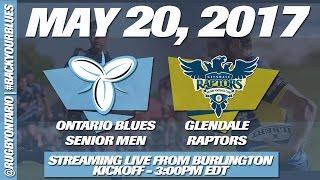 Rugby Match: Ontario Blues vs Glendale Raptors 2017 Video