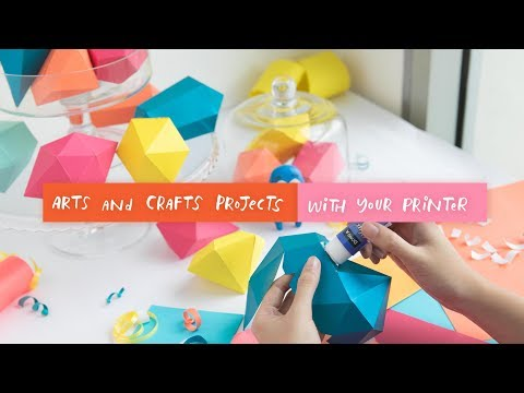 Art and Crafts Projects with Your Printer