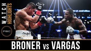Broner vs Vargas HIGHLIGHTS April 21 2018 - PBC on Showtime