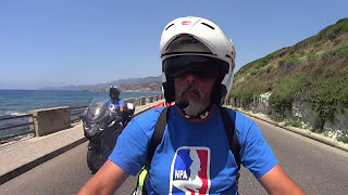 In Moto ... in Sardegna ( On the Motorcycle...across Sardinia ) HD