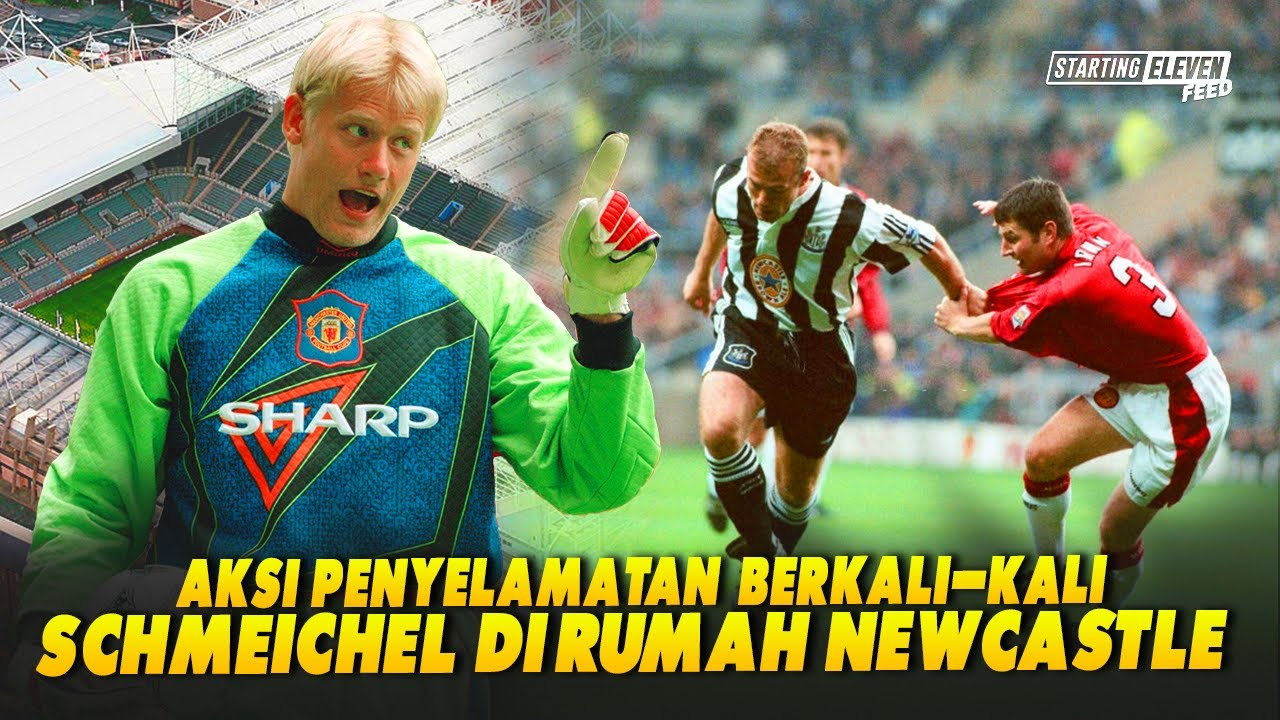 Malam Ketika Peter Schmeichel Memupus Harapan Newcastle Menjadi Juara Liga Inggris