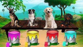 Learn Colors With Animals, Learn Animals Name and Sound For Kids Nursery Rhymes Song For Children