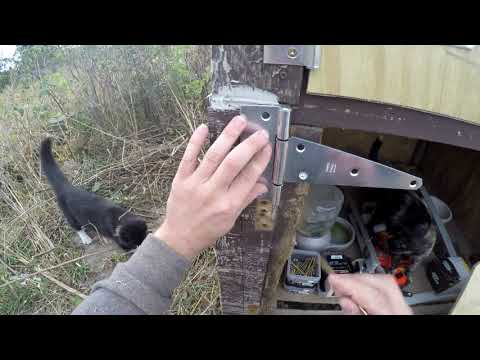 Building a New Bottom Door for the Cathouse - Cathouse Part 8