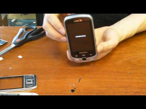 Samsung Moment Screen Replacement or Digitizer