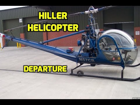 Hiller Helicopter Departure - Greater St. Louis Helicopter Association Fly-In