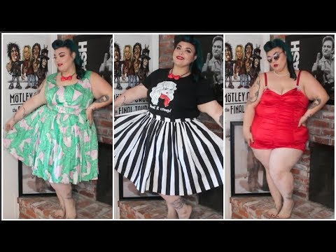 Plus Size Pinup Girl Clothing Haul + Try On