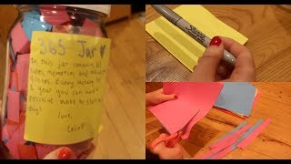 DIY 365 DAY JAR (EASY PINTEREST BIRTHDAY GIFT)