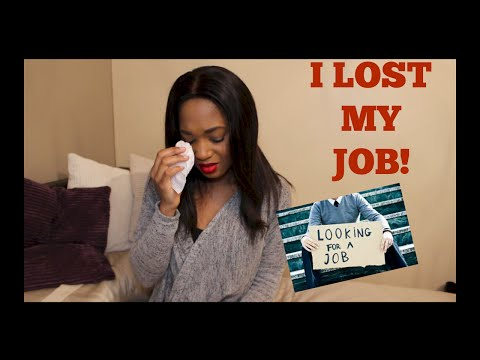 I LOST MY JOB! Surviving being fired/redundancy/etc