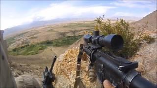 FIrefight, IED strike, Afghanistan.