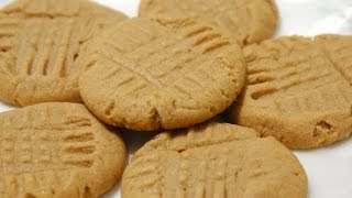 Peanut Butter Cookies (quick And Cheap Biscuits) - Recipe