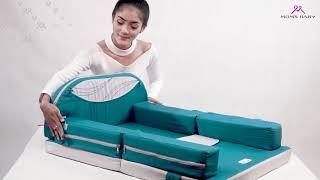 Kasur Bayi 3 in1 Sofa dan Alas Bermain Linea Series