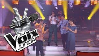 quipe Alex   Soleil    Chants de bataille   La Voix Junior 2
