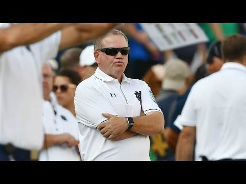 Notre Dame Coach Brian Kelly Rips Team After Loss To Duke